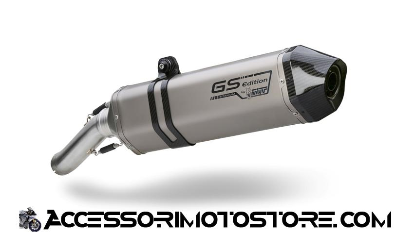 Terminale SPEED EDGE in titanio R 1200 GS (08-09) cod.B.004.LGS